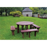 JUNIOR OLYMPIC PICNIC BENCH BROWN