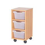 Cubby Tray Storage: 3 Tier with 3 Trays