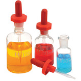 Clear Glass Dropper Bottles