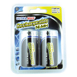 Ultra Max Premium Rechargeable - D Cell