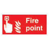 100X200MM FIRE POINT SIGN