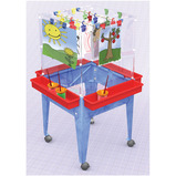 4 SIDED SPACE SAVER EASEL