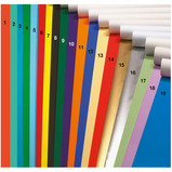 POSTER PAPER  510X760MM PURPLE PK25