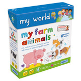 my world my farm animals Puzzle