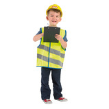 HIGH VIS VEST JNR YELLOW AGE 4-6