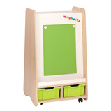 TRUDY WHITEBOARD EASEL KS1 MP/ORNGE