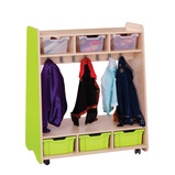Trudy Mobile Double Storage Dressing Up Unit