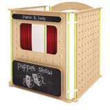 TRUDY PUPPET THEATRE SET GREY