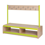 Static Double Sided Bench - 24 Hooks