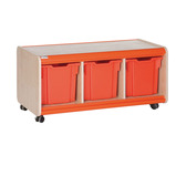 Trudy Mobile Jumbo Tray Storage