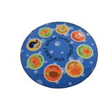 Under the Sea Round Mat