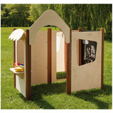 Outdoor Playhouse Panel Set
