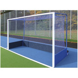 INTEGRAL WEIGHTED HOCKEY GOAL