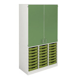 Teaching Wall Cupboard & Tray Unit