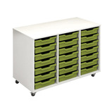 TEACH WALL DOCK 21TRAY UNIT MP/LIME