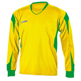 Prostar Refract Football Jersey - Yellow/Emerald