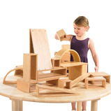 Hollow Wooden Blocks