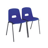 GH LINKING CHAIR SIZE 6 BLACK