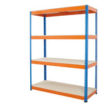 BIG800 SHELVING 4H 1980X1830X610 B/O