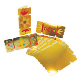 Gold/Silver Cracker Cards