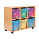 Allsorts 6 Jumbo Tray Storage Unit