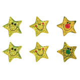 Sparkly Gold Star Stickers