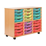 Allsorts 24 Shallow Tray Storage Unit