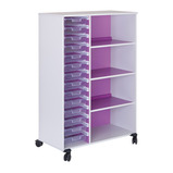 Mobile 14 Tray and Shelf Units