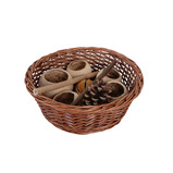 Circular Wicker Basket