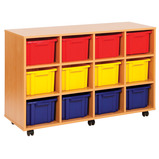 STRATA 12 DEEP TRAY UNIT YELLOW