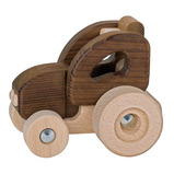 Natural Wooden Vehicle Set