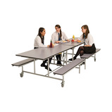 Mobile Folding Bench Unit