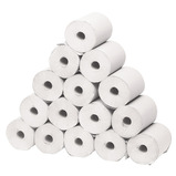 HYGIENE/COUCH ROLLS SMALL WHITE 1PLY