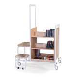 Book Trolley with Step