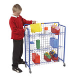 Single & Double Lunchbox Trolley