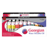 Daler Rowney Georgian Water Mixable Oil Paint Set