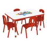 Thrifty Rectangular 4 Seater Table