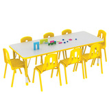 Thrifty Rectangular 8 Seater Table