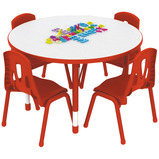 Thrifty Round 4 Seater Table