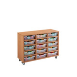 Cubby Tray Storage: 5 Tier with 15 Trays