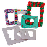 DECORATE YOUR OWN CARDBOARD FRAMES