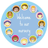 Welcome to our Nursery Signs