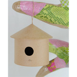 decopatch® Paper Maché Bird Houses