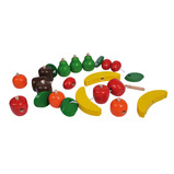 WOODEN THREADING FRUIT