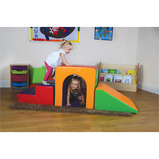 UP & OVER SOFT PLAY SET (WOODLAND)