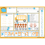 WRITE & WIPE A3 MATHS MATS YR6