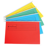 The Consortium Coloured Foolscap Suspension Files
