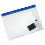 Value Mini Whiteboard Zip Wallet Kit