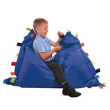 Sensory Touch Tags Bean Bag Floor Cushion