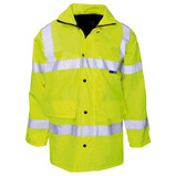 HI-VIS WATERPROOF JACKET MEDIUM